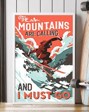 The Mountains Are Calling Skiing 16x24 Poster lifestyle-poster-4