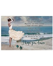 Turtle I Hope You Dance 17x11 Poster front