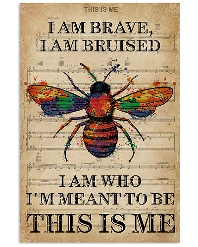 Vintage Music I Am Brave Pride Bee