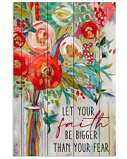 Let Your Faith Hummingbird 11x17 Poster front