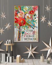 Let Your Faith Hummingbird 11x17 Poster lifestyle-holiday-poster-1