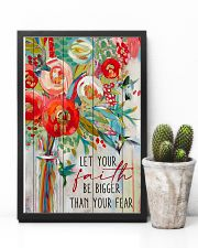 Let Your Faith Hummingbird 11x17 Poster lifestyle-poster-8