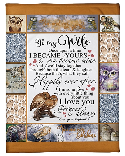 Husband To Wife Happily Ever After Owl