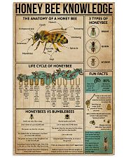 Honey Bee Knowledge 16x24 Poster front