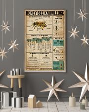 Honey Bee Knowledge 16x24 Poster lifestyle-holiday-poster-1
