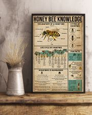 Honey Bee Knowledge 16x24 Poster lifestyle-poster-3