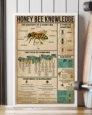 Honey Bee Knowledge 16x24 Poster lifestyle-poster-4