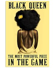 Yellow Black Girl Most Powerful Piece 11x17 Poster front