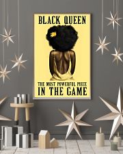 Yellow Black Girl Most Powerful Piece 11x17 Poster lifestyle-holiday-poster-1