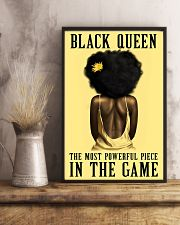 Yellow Black Girl Most Powerful Piece 11x17 Poster lifestyle-poster-3