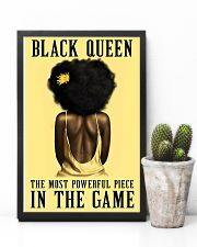 Yellow Black Girl Most Powerful Piece 11x17 Poster lifestyle-poster-8