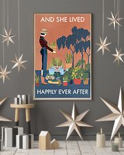 Vintage And She Lived Happily Gardening 16x24 Poster lifestyle-holiday-poster-1