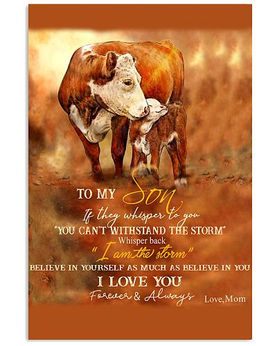 Mom To My Son I Am The Storm Cow