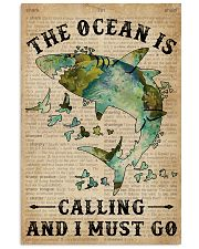 Dictionary The Ocean Is Calling Shark 11x17 Poster front