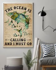 Dictionary The Ocean Is Calling Shark 11x17 Poster lifestyle-poster-1