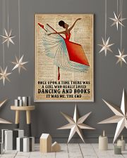 Book Dancing Black Girl Once Upon A Time 16x24 Poster lifestyle-holiday-poster-1