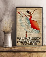 Book Dancing Black Girl Once Upon A Time 16x24 Poster lifestyle-poster-3