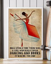 Book Dancing Black Girl Once Upon A Time 16x24 Poster lifestyle-poster-4