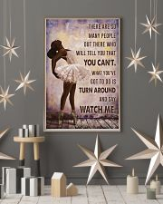 Watch Me Ballet Black Girl 11x17 Poster lifestyle-holiday-poster-1