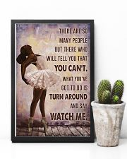 Watch Me Ballet Black Girl 11x17 Poster lifestyle-poster-8