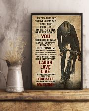 Today Is A Good Day Cycling 16x24 Poster lifestyle-poster-3