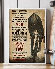 Today Is A Good Day Cycling 16x24 Poster lifestyle-poster-4