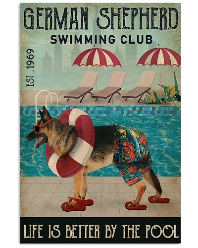 Swimming Club German Shepherd
