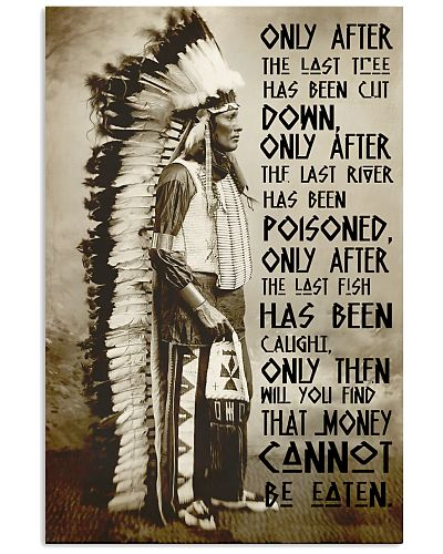 Native American Only After Cree Prophecy