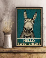 Hello Sweet Cheeks Donkey 16x24 Poster lifestyle-poster-3