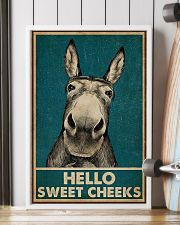 Hello Sweet Cheeks Donkey 16x24 Poster lifestyle-poster-4