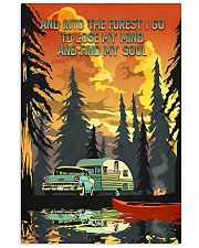 And Into The Forest Camping 11x17 Poster front