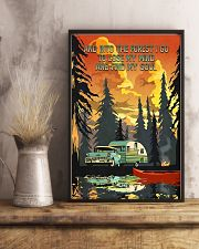 And Into The Forest Camping 11x17 Poster lifestyle-poster-3