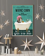 Green Bath Soap Company Maine Coon 11x17 Poster lifestyle-holiday-poster-1