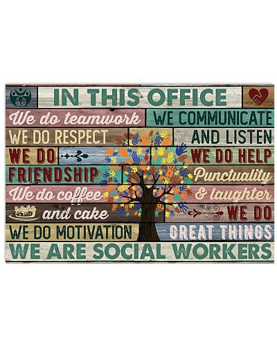 In This Office Social Workers