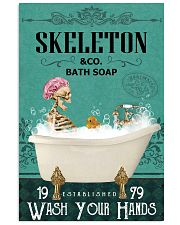Green Bath Soap Company Skeleton 11x17 Poster front