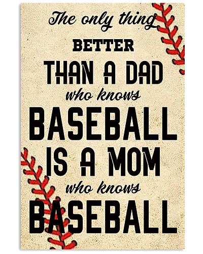 The Only Thing The Dad Who Knows Baseball