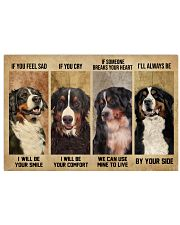 Bernese Mountain Dog If You Feel Sad 24x16 Poster front