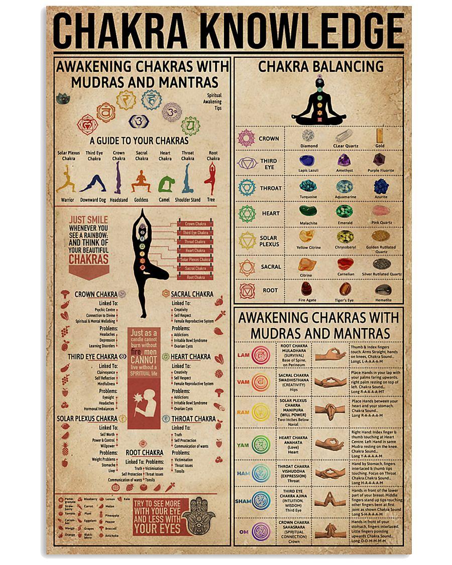 Chakra Knowledge 16x24 Poster