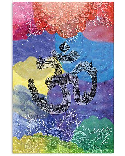 Om Yoga Watercolor