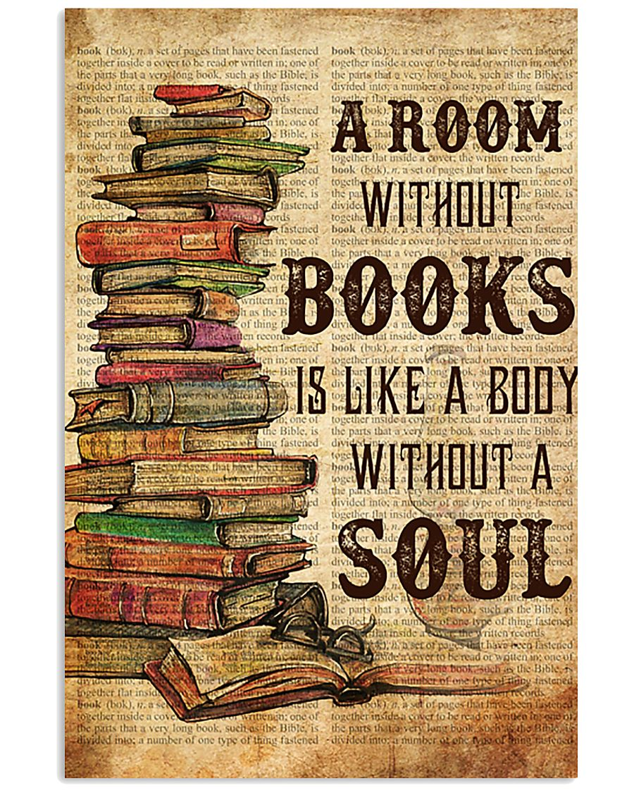 Book A Room Without Books 11x17 Poster