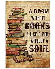 Book A Room Without Books 11x17 Poster front
