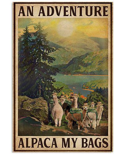 Vintage An Adventure Alpaca My Bags
