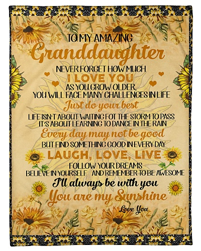 Grandma To Granddaughter Love You As You Grow
