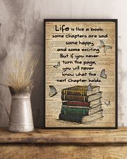 Dictionary Life Is Like A Books 11x17 Poster lifestyle-poster-3