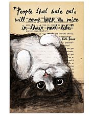 People That Hate Cats 11x17 Poster front