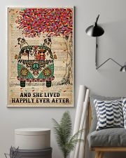 Dictionary She Lived Happily Australian Shepherd 11x17 Poster lifestyle-poster-1