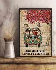 Dictionary She Lived Happily Australian Shepherd 11x17 Poster lifestyle-poster-3