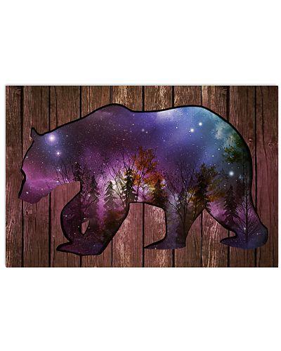 Galaxy Bear Cutout