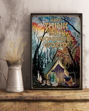 What A Wonderful World Camping 16x24 Poster lifestyle-poster-3
