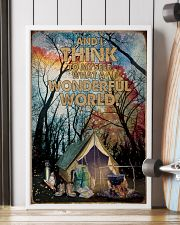 What A Wonderful World Camping 16x24 Poster lifestyle-poster-4